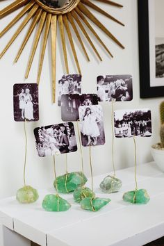agate photo holders