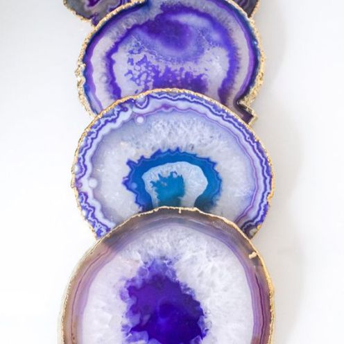Purple Agate Costers