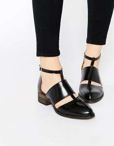 warehouse cut-out ankle boots from ASOS
